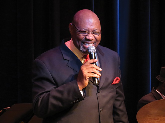 Johnnie Owens and Friends, with special guest Josie Lowder, perform at the Club Room in the Hoogland Center for the Arts on Thursday night, Dec. 5.