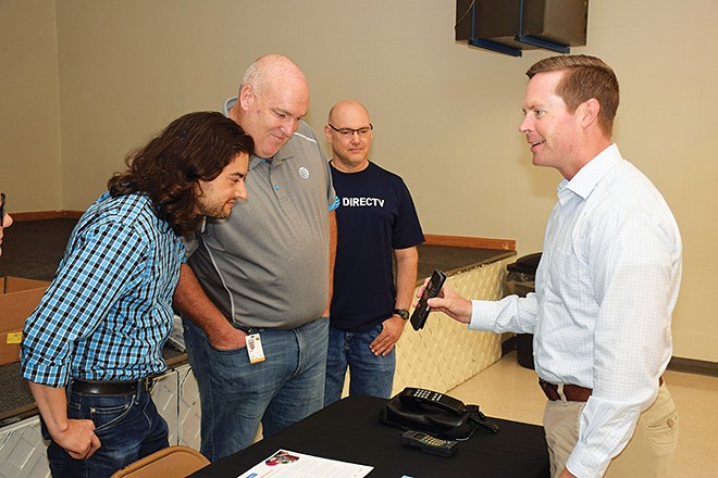 In November 2018, Republican Rodney Davis of Taylorville won a fourth term as 13th District congressman in a 14-county district covering both urban and rural areas of central and southwestern Illinois. He is shown here at a senior citizens technology fair he hosted last year in Litchfield.