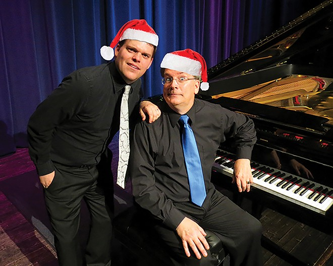 The Dual Piano Christmas Show, Fri. and Sat., Dec. 20 and 21 at Hoogland Center for the Arts.