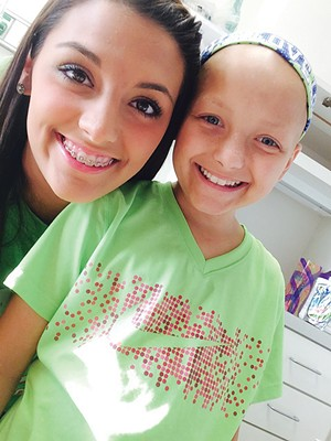 Lauren Hernandez and sister Faith, who inspired her to be a nurse. - PHOTO COURTESY OF LAUREN HERNANDEZ