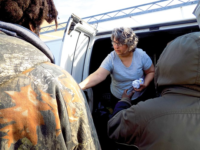 Julie Becker says Springfield has a manageable number of homeless people who need help. - PHOTO BY BRUCE RUSHTON