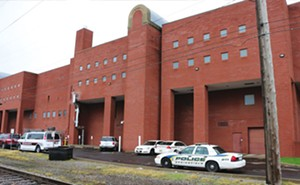 The Sangamon County jail is housing eight inmates who were ready for transfer to the state. - PHOTO BY BRUCE RUSHTON