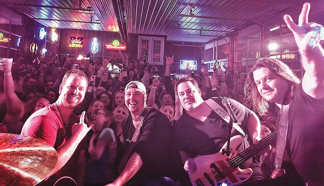 Brushville streams a live show this Friday, 8-8:30 p.m. from the Facebook page of WFMB-FM radio.
