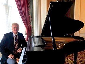 Ed Clark plays songs on his piano, streaming nearly nightly around 7:30 p.m. on Facebook Live.