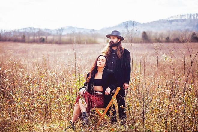 Rylie Bourne and Damon Atkins as Lonehollow stream on Facebook Live at 6 p.m. (CST) Thursday.