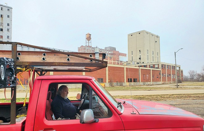 Retired Springfield fire marshal Chris Richmond is spearheading an effort to redevelop the 18-acre site of the former Pillsbury Mills plant and has created a group called Moving Pillsbury Forward which has been lobbying the city to take ownership of the distressed property.