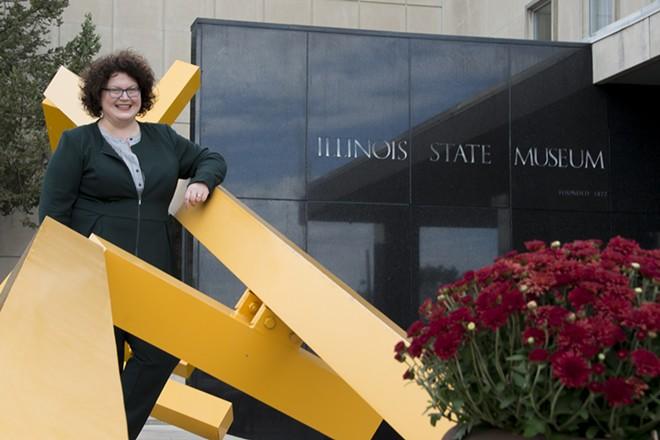 Cinnamon Catlin-Legutko, director of the Illinois State Museum.