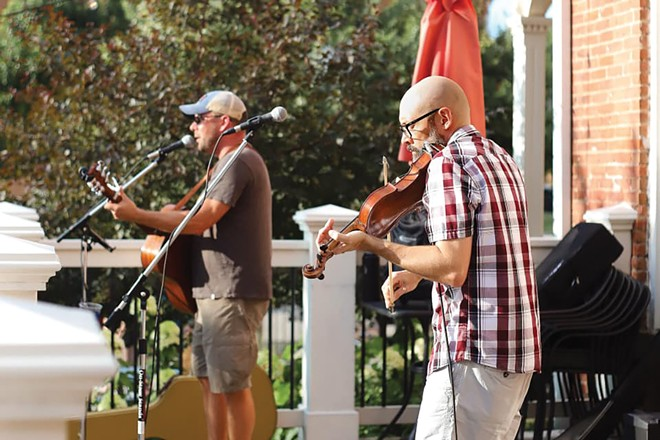 Me, Myself and Schy featuring Jeff Berendt and Schy Willmore play Obed & Issac's outdoor space on Wednesday, July 1, at 6:30 p.m.