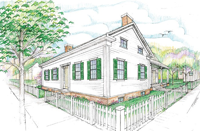 The replica of the Lincolns' 1,200-square-foot cottage will give a true sense of the family's home life during their first 12 years in Springfield.