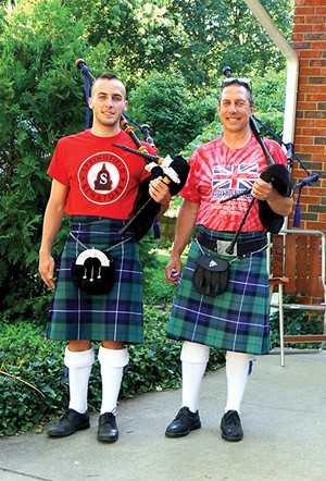 United We Pipe, the father and son bagpiping duo of Damon and Aidan McParland, streams on Facebook Live Friday, July 3, at  7p.m. (CST) direct to Springfield's sister city in Ashikaga, Japan.