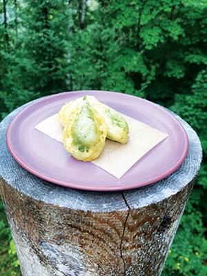 Fried Milkweed Pods. - PHOTO BY ILIANA REGAN