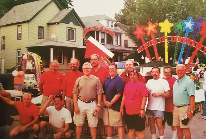 CORAL's first float in the Illinois State Fair in 2005, from the book published by CORAL titled Perhaps, If You Saw One. - PHOTO COURTESY OF CARMICHAEL