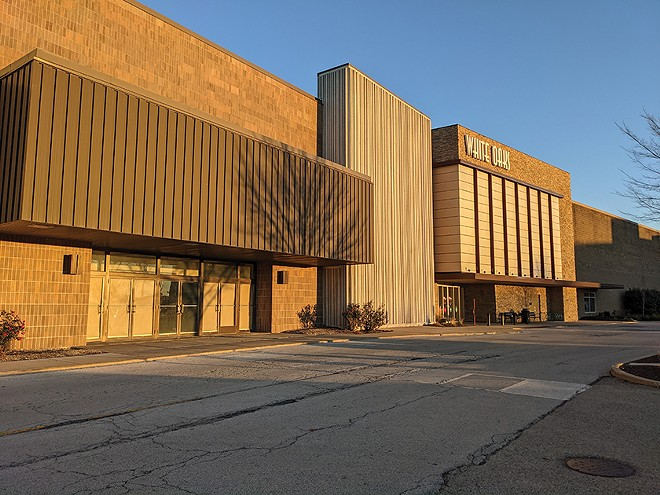 The state is working on plans to move the Illinois Environmental Protection Agency to White Oaks Mall. - PHOTO BY BRUCE RUSHTON