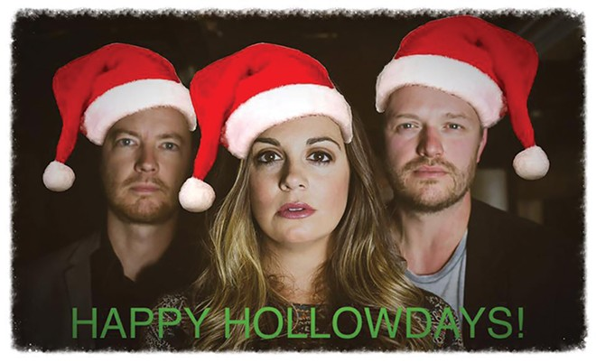 The Deep Hollow live streams their annual Happy Hollowdays concert, Thursday, Dec. 7 from 7:30-9 p.m.