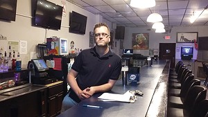 Ryan Bandy, bar owner and vice president of the Central Illinois Licensed Beverage Association, says that he'll stay closed because reopening rules are too tight. - PHOTO BY BRUCE RUSHTON