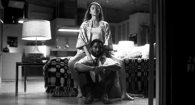 John David and Zendaya in Malcolm and Marie.