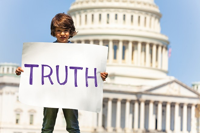 "Open letter to senators on impeachment: ""Our kids understand. But 57 million American citizens still believe Trump's lies."""
