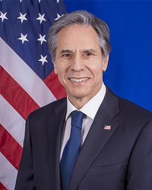 Secretary of State Anthony Blinken