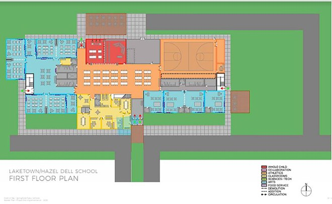 Part of plans to combine Laketown and Hazel Dell elementary schools. - DISTRICT 186 SPRINGFIELD PUBLIC SCHOOLS