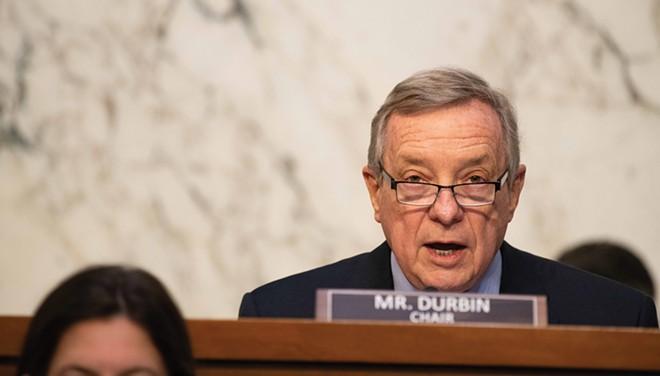 Richard Durbin now chairs the powerful Senate Judiciary Committee. - PHOTO COURTESY U.S. SENATE