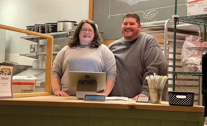 After losing their jobs during the pandemic, Cana and Brandon Austin are opening Grateful Coffee Co. in April. - PHOTO COURTESY BRANDON AUSTIN