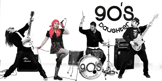 90's Daughter covers it all at the Blue Grouch on Saturday night.