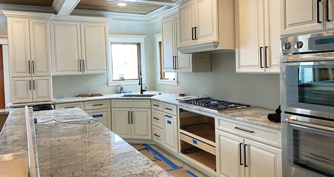 A kitchen remodel by Buraski Builders. People are eating at home more and deciding now is the time for updates and improved functionality. - PHOTO COURTESY OF BURASKI BUILDERS