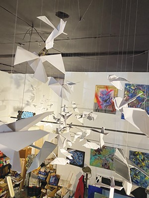 """""""Tranquility in Flight: A Multisensory Installation"""" is now open at The Pharmacy Gallery and Art Space. - CREDIT: THE PHARMACY GALLERY"""