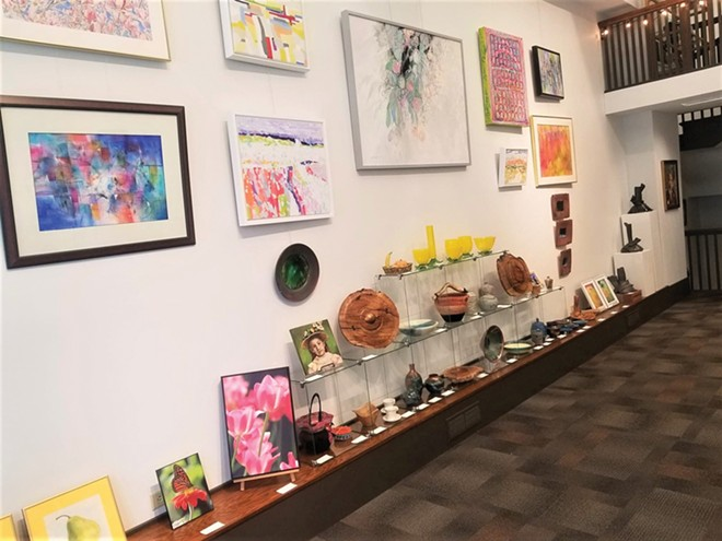 """SAA Collective Gallery's spring exhibition, """"Fresh Produce."""" - CREDIT: SAA COLLECTIVE GALLERY"""