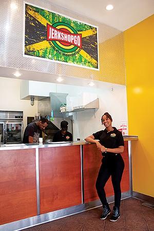 Jerk Shop Go owner Kadejia Berkley. - PHOTO BY STACIE LEWIS