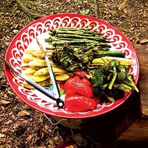 Grilled vegetables - PHOTO BY ANN SHAFFER GLATZ