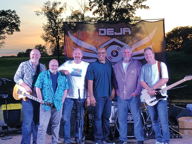 Deja Voodoo gets things started this Friday night for AbeFest at the BoS Plaza.