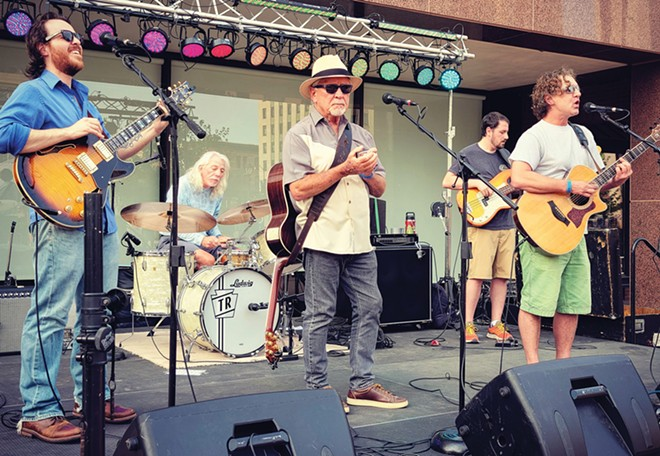 Positively 4th Street plays the Positively Summer Music Festival this Saturday at Sheedy Shores Winegarden near Loami along with several other acts.