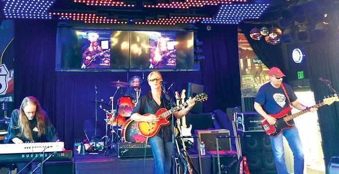The Rick Mari Band plays the Curve Inn this Thursday at 6 p.m.