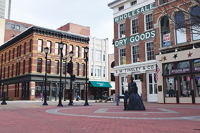 Some businesses in downtown Springfield have benefitted from recovery grants. - CREDIT: CAROL WEEMS