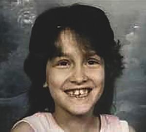 Jennifer Lewis, age 9.