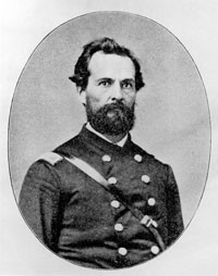 """Holden Putnam came to Illinois in the 1850s and was commissioned as a colonel in the 93rd Illinois infantry in 1862. He died in defense of our nation's flag and the """"cause of Civil Liberty"""" at the Battle of Missionary Ridge on Nov. 25, 1863"""
