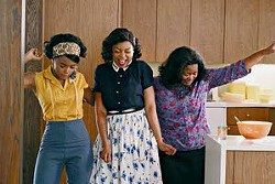"Associated Press photo -- From left: Janelle Monae, Taraji P. Henson and Octavia Spencer star in ""Hidden Figures."""