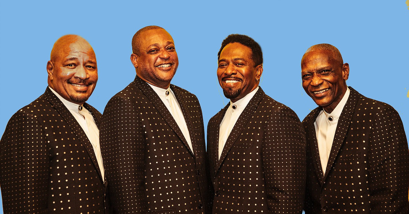The Stylistics are, from left, Airrion Love, Jason Sharp,Herbert Murrell and ?Bo? Henderson. - DANERHYS