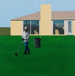 """""""Lawn Maintenance"""" by Ramiro Gomez - UNDERWOODPIX.COM"""