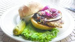 Ernie's Kirkwood Chicken Cordon Blue sandwich.
