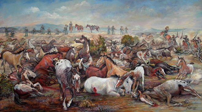 Horse Slaughter Camp by Nona Hengen