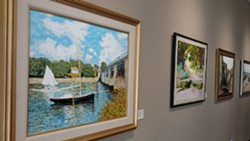 A reception for an exhibit of works by Robin Stanard will be 1 to 3 p.m. Sept. 29 in the Center at Colfax Library.