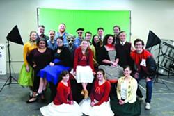 The LCT cast of A Midsummer Night's Dream. - TRIBUNE/STEVE HANKS