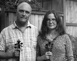 Spokane musicians Greg and Caridwen Spatz will perform Saturday at Artisans at the Dahmen Barn in Uniontown.