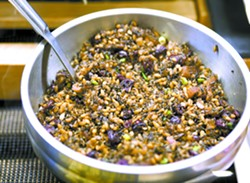 Winter farro and wild rice salad is one of the foods that is popular at the Moscow Food Co-op. - GEOFF CRIMMINS