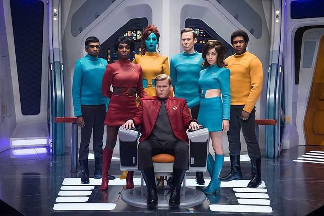 "Jesse Plemons is captain of the USS Callister in ""Black Mirror."" - PHOTO/ NETFLIX"