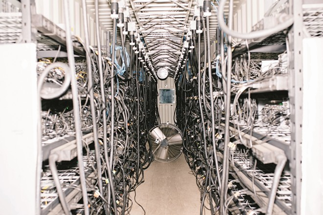 OregonMines Data Center - PHOTO/CHRISTINE-DONG