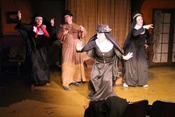 """""""Nuncrackers, the Nunsense Christmas Musical,"""" is being performed by the Pullman Civic Theatre."""