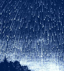 An image of the Perseid Meteor Shower from Magdalena Ridge Observatory in New Mexico. - PICASA 3.0